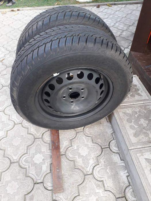 Продам зимові шини з металічними дисками розмір 195×65R15.2018р.в. Дубно - изображение 1