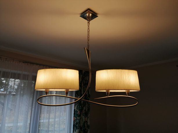 Lampa wisząca modna salon