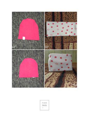 Комплект шапка + хомут