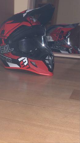 Capacete bogotto+oculos oneal motocross
