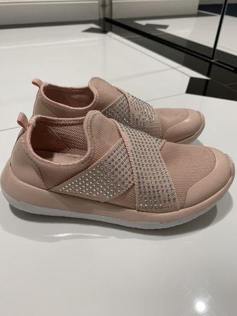 F&F dziecięce sneakersy buty sportowe z diamencikami rozmiar 32