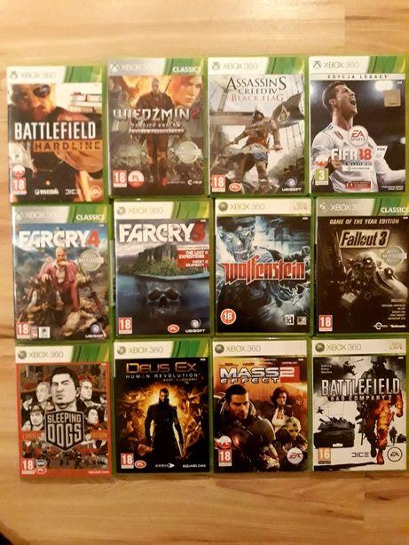 FIFA 18 Far Cry 4 Wiedźmin 2 gry do Xbox 360