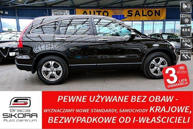 Honda CR-V 3 Lata GWARANCJA I wł Kraj Bezwypadkowy 4x4 EXECUTIVE...