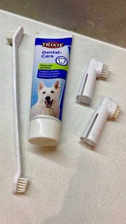 Щетки для чистки зубов собаки