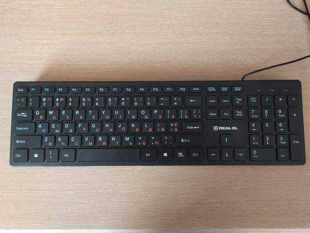 REAL-EL 7080 Comfort, USB, black (7080 Comfort, USB, black)