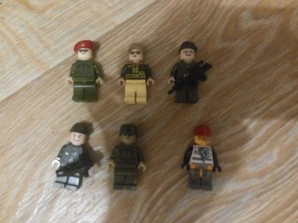 Лего военные человечки