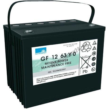 NOWE Akumulatory żelowe EXIDE Sonnenschein 12V 70AH