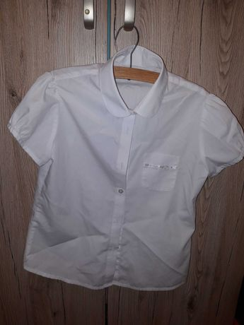 biała koszula r 134/140