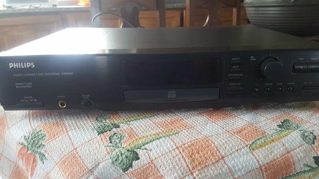 leitor e gravador cd's Philips