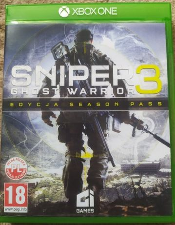 Sniper Ghost Warrior 3 Xbox ONE PL