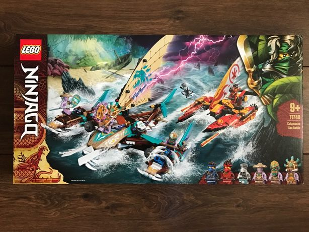 LEGO Ninjago 71748 Morska bitwa katamaranów - NOWE