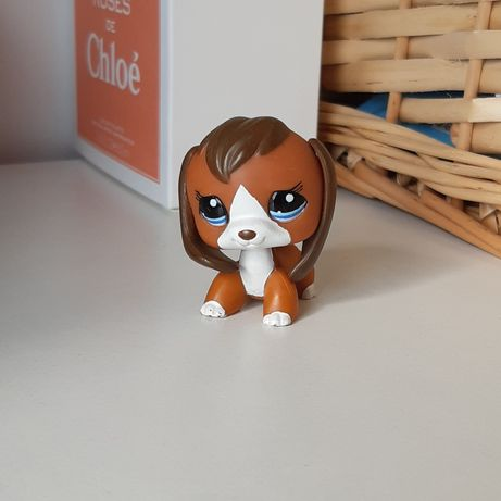 Littlest pet shop beagle piesek unikat #1104