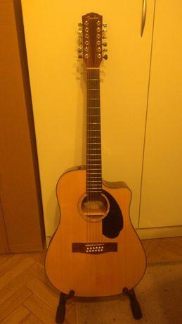 Fender CD60SCE-12 Natural gitara elektro-akustyczna regulacja lutnicza