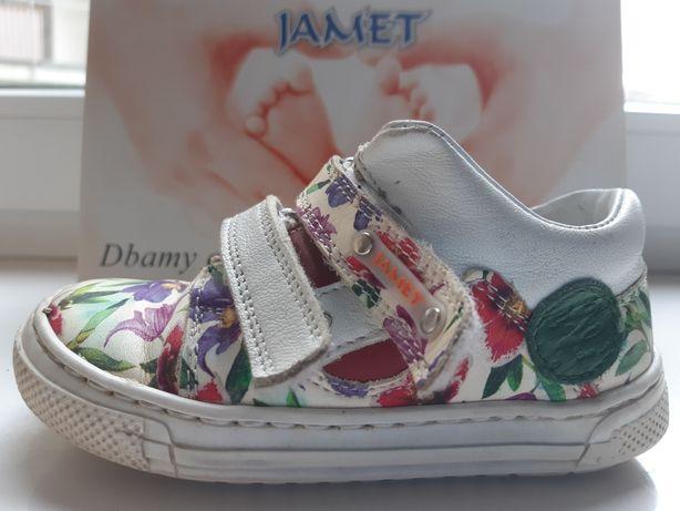 Buty dziecięce Jamet skórzane trampki roz. 23