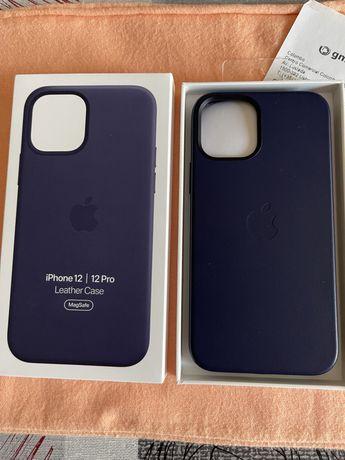 iPhone 12 Pro Leather Case.MagSafe.Totalmente nova.Fatura GMS