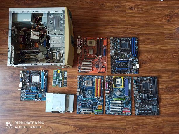 Stara elektronika Płyta główna Ram