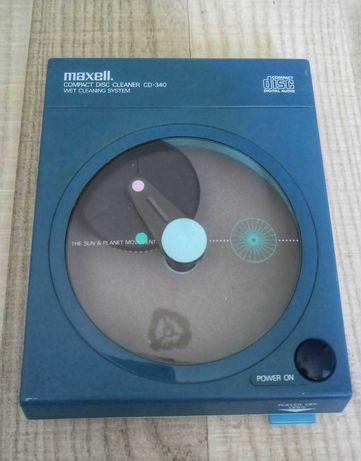 Устройство для очистки CD дисков maxell (Hitachi) made in Japan