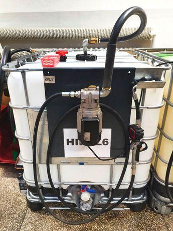 Pompa olejowa produkcji włoskiej PIUSI