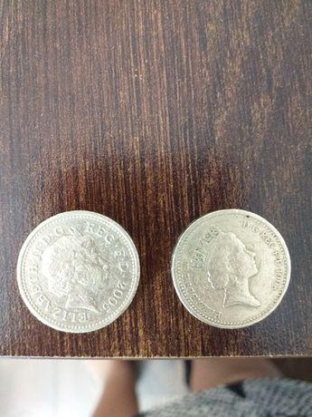 one pound 1998 rok i 2005