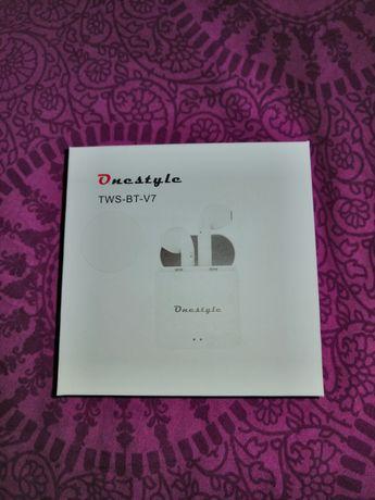 Słuchawki bezprzewodowe bluetooth CORN TECHNOLOGY Onestyle Białe