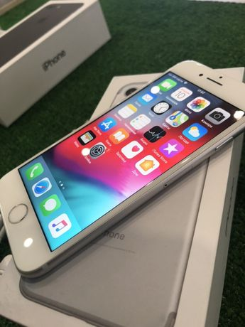 iPhone 7 128 silver Neverlock Гарантия 3 месяца Идеал Гарантия 3 мес