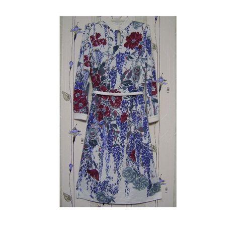 Интересное платье из купонной ткани