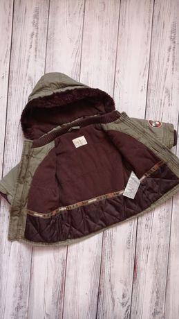 Курточка для мальчика 9-12 мес