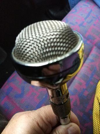 Microfone vintage tap control aéreo