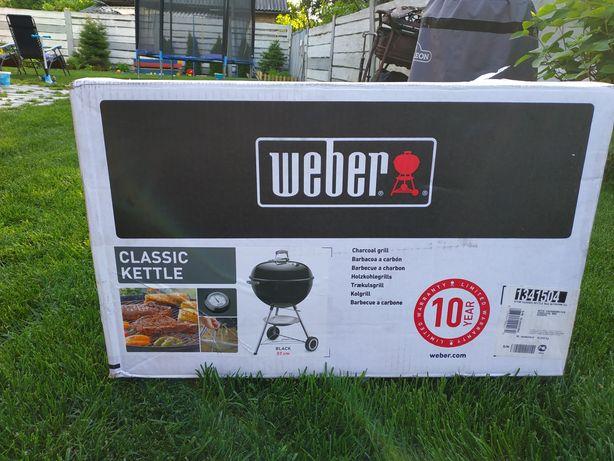 Гриль угольный Weber One-Touch Original, 57 см