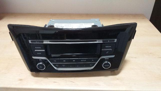 Radio samochodowe Nissan Qashqai