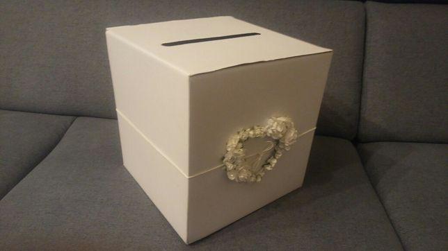 Pudełko ślubne na koperty