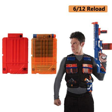 Магазин для 6 стрел игрушечное оружие Nerf (Elite)