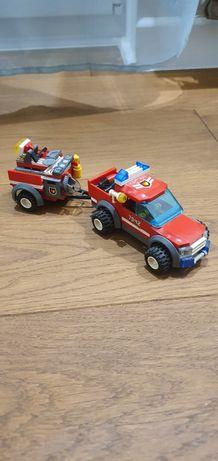 Lego samochod straż pożarna