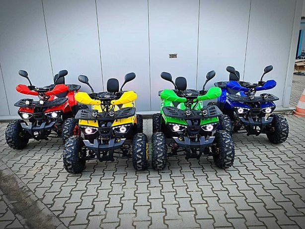 Quad ATV KING Moto Raptor 125 HIT Pług, Odśnieżarka, Promocja