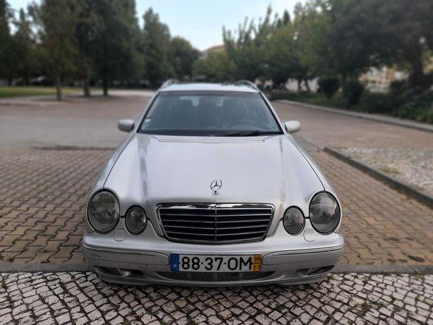 Mercedes e270 cdi 7 caixa automatica lugar gps TV pele