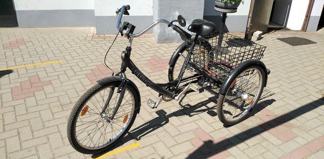 Rower rehabilitacyjny trojkolowy