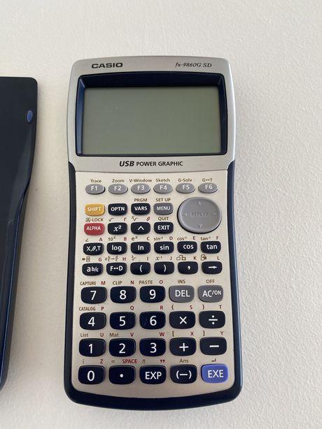 Calculadora Casio fx-9860G SD