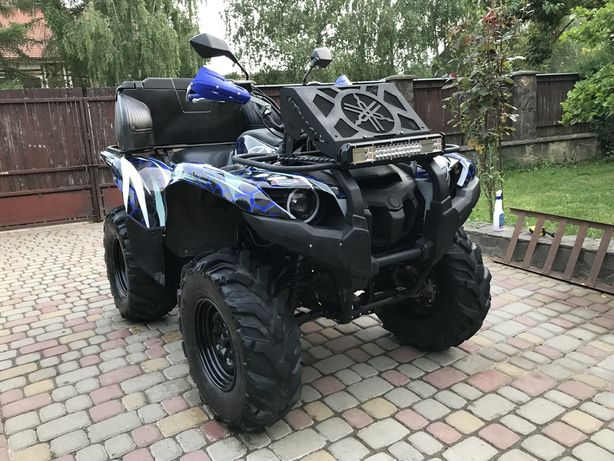 Yamaha Grizzly 700 Special Ed