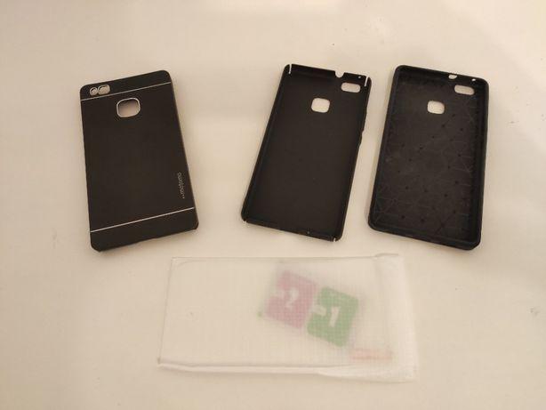 Etui dla Huawei P9 lite + szkła ochronne