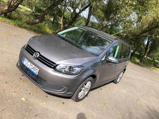 Volkswagen Touran 2011r 1.6 tdi
