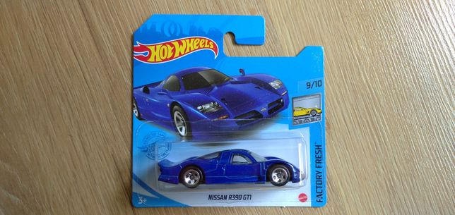 Hot Wheels Nissan R390 GTI