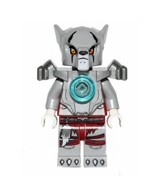 Lego Legends Chima loc072 Worriz figurka flat silver