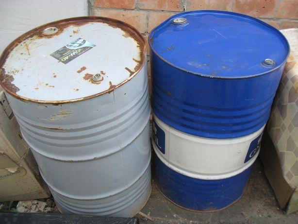 Бочка 200 литров тонкостенная из под моторного масла