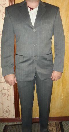 Костюм серый (двойка)