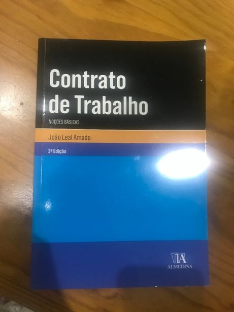 Contrato de Trabalho – Noções Básicas (3º edição) (Inclui Portes)
