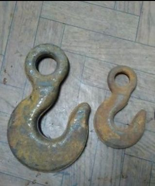 Крюки чалочные К2 на 0.63 и 2.5 т