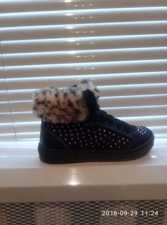 Кожаные ботинки (ботінки, черевики )