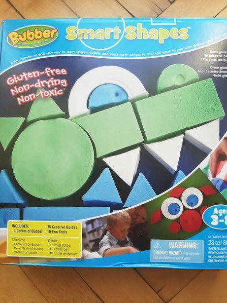 masa plastyczna jak piasek kinetyczny ciastolina BUBBER smart shape