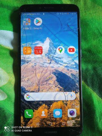 Huawei y6 2018 szkodzony wyświetlacz