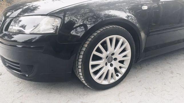 Koła 5x112 Oryginalne Audi 17cali 5sztuk